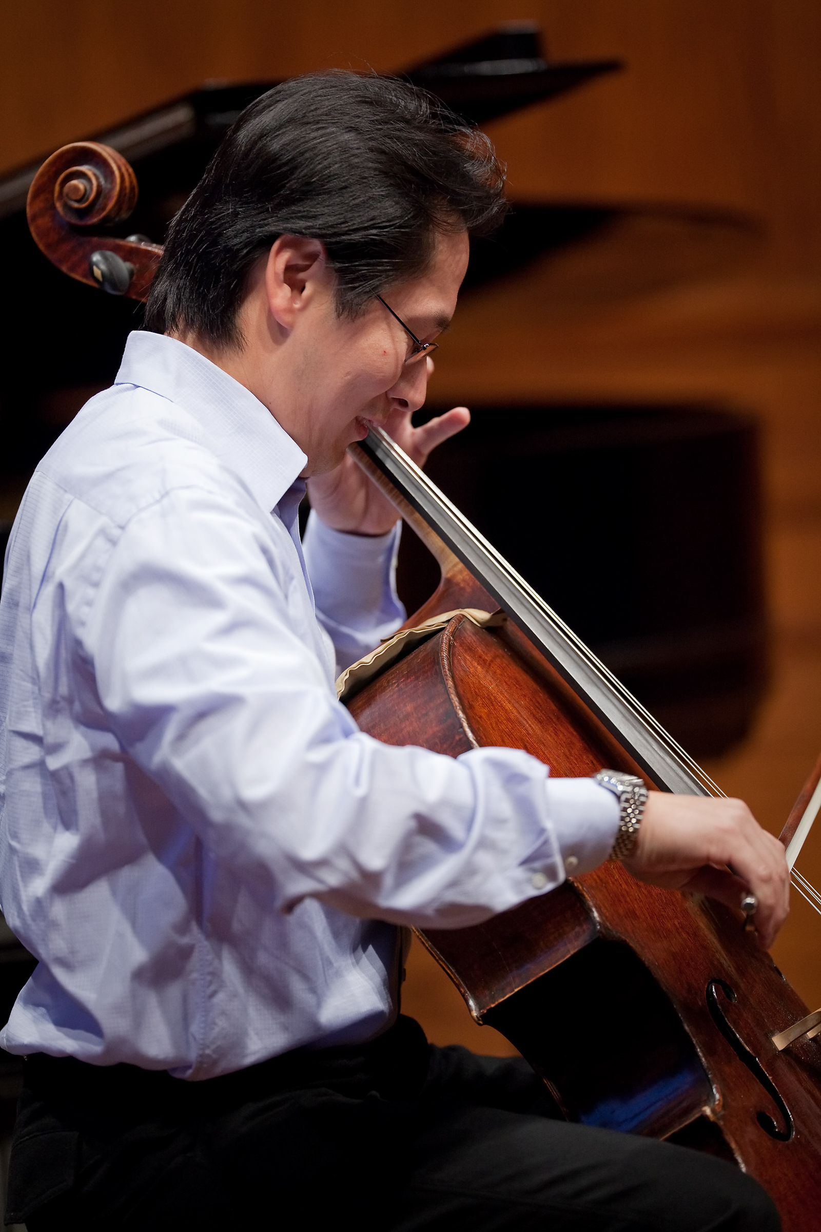 Kenneth Kuo, cello